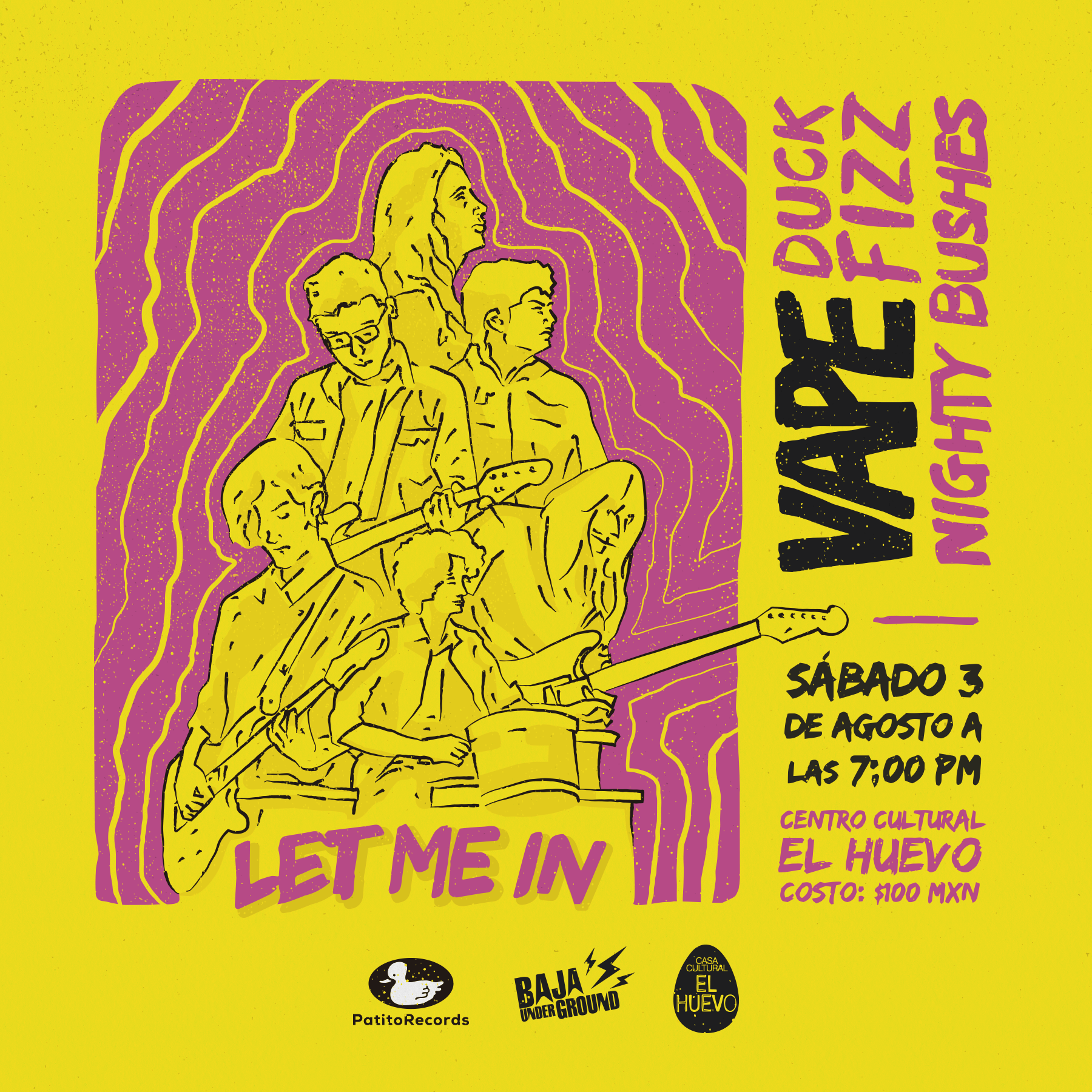 Fiesta de Lanzamiento Let me in by Vape